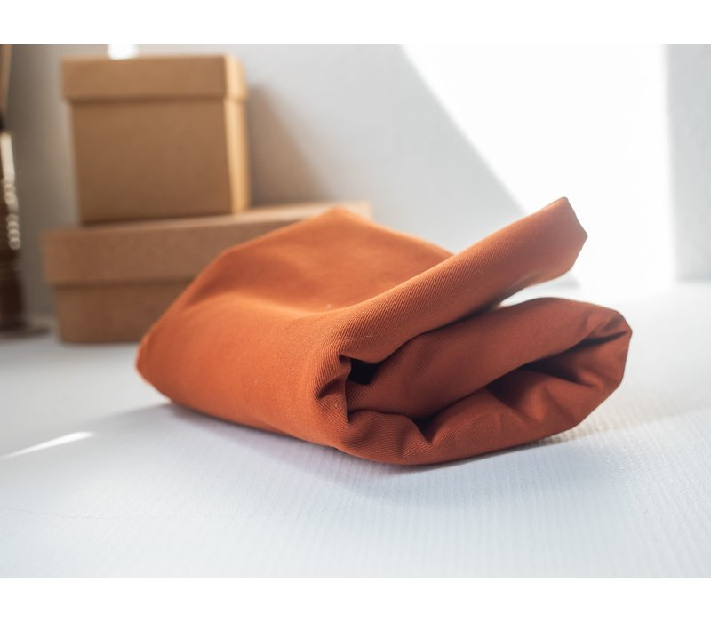 Canvas Washed Cotton Twill - Rust