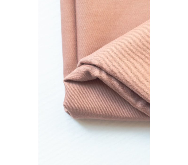 Canvas Washed Cotton Twill - Dusty Rose
