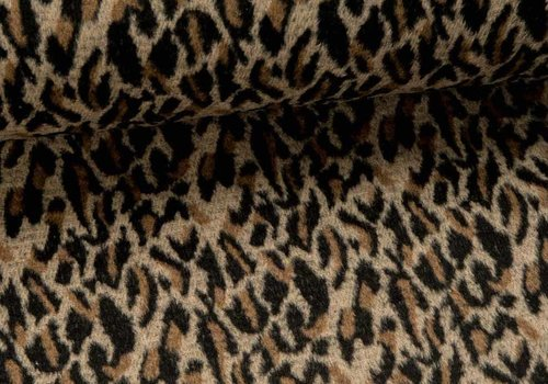 Fibre Mood Wol mix Furry Leopard - Frida / Hunter
