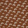 De Stoffenkamer Soft Sweater Rust Flowers