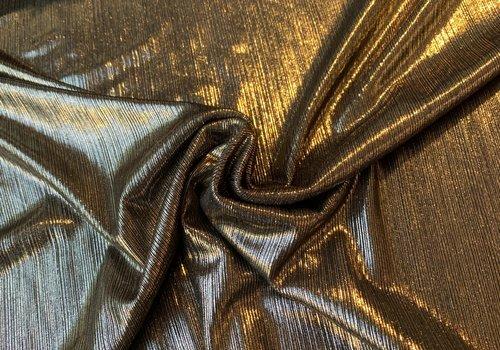 Fibre Mood Semi Plissé Darkgold - Emilia
