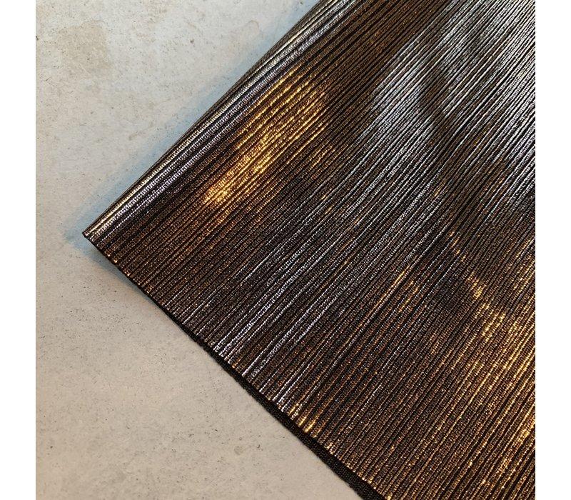 Semi Plissé Darkgold - Emilia