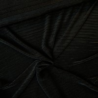 Semi Plissé Black