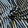La Maison Victor Fluweel Velvet stripes grey black