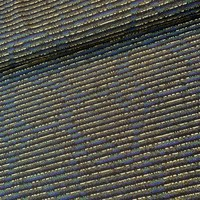 Jacquard Tricot glitter lines gold