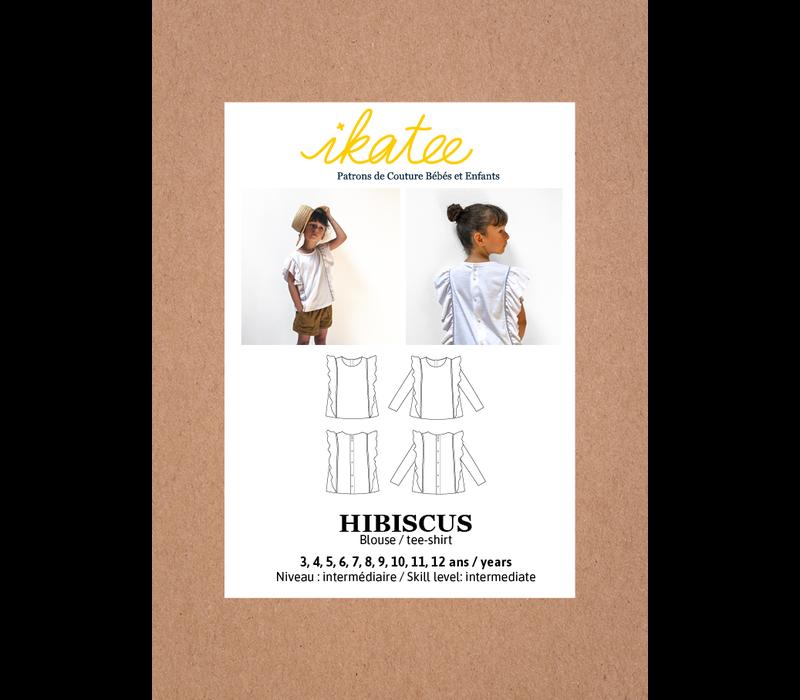 HIBISCUS - blouse // T-shirt