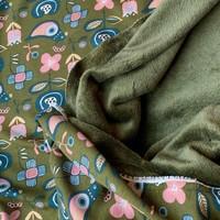 Wellness Sweater Moss Birds