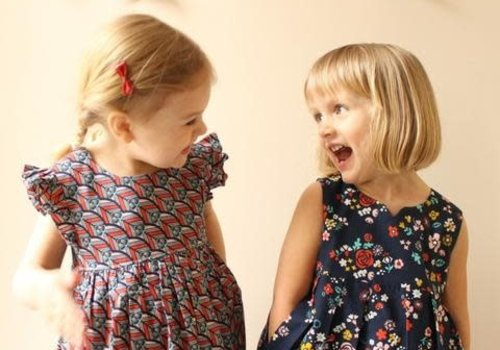Made By Rae Geranium Top // Dress kids