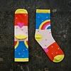 Cotton + Steel Socks Rainbow