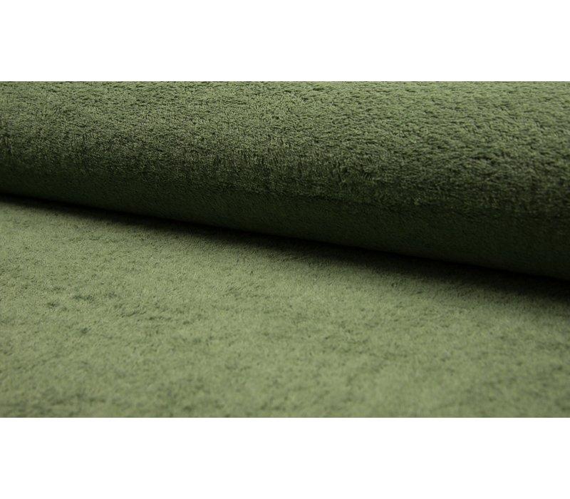 Badstof Melange Green