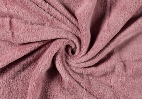 De Stoffenkamer Wellness Fleece soft Pink