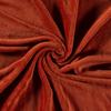 De Stoffenkamer Wellness Fleece Rust