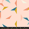 Moda Cotton Ruby Star - Pink Tangram