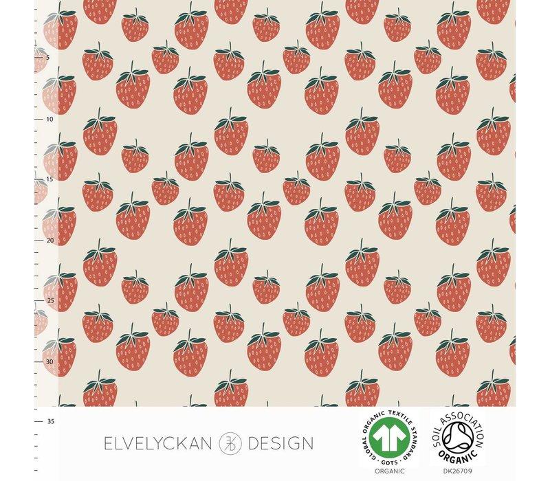 Bio tricot - Strawberries creme