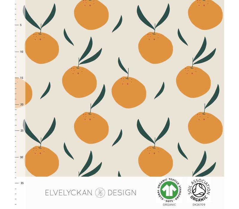 Bio tricot - oranges creme