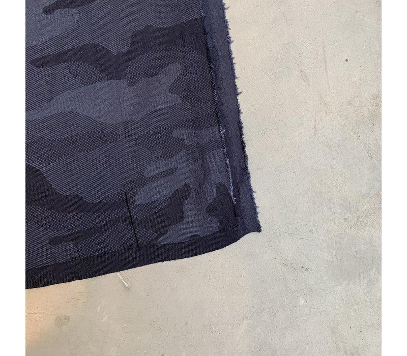 Sportswear - jersey camouflage navy