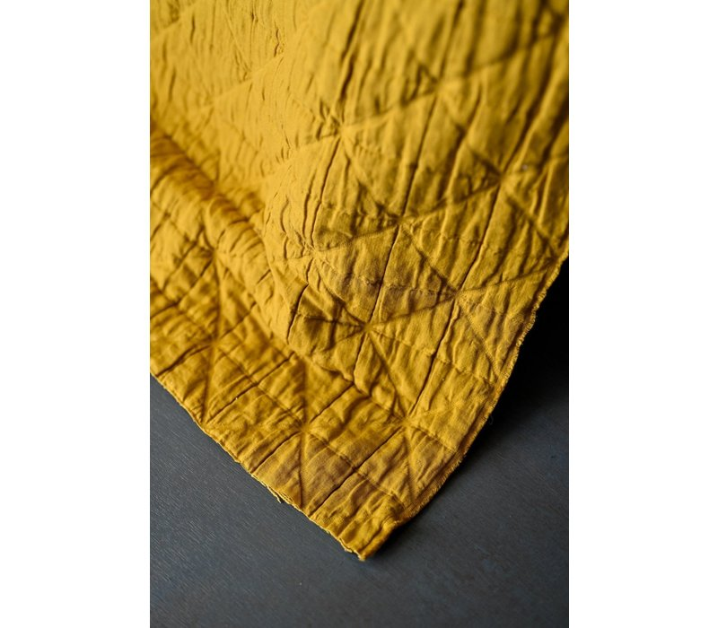 Jacquard Cotton - Mustard