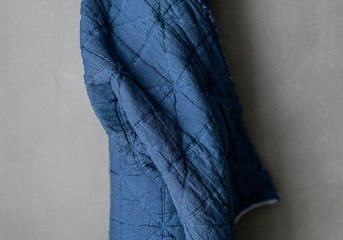 merchant&mills Jacquard Cotton - Ahoy Blue