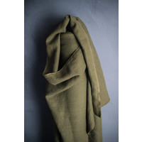 Washed Linen Heavy - spruce green