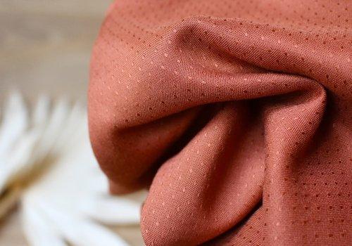 Atelier Brunette Viscose Dobby Chestnut