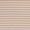 De Stoffenkamer Double Gauze Tetra stripes oker