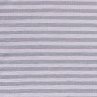 Double Gauze Tetra stripes mint