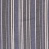 De Stoffenkamer Linen Mix Stripes Cobalt