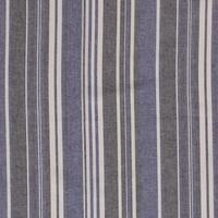 Linen Mix Stripes Cobalt
