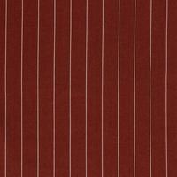 Linen Mix Pin Stripe Rust