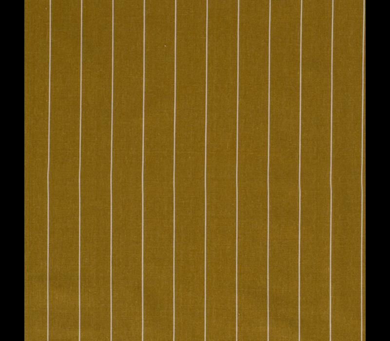 Linen Mix Pin Stripe Mustard
