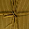 De Stoffenkamer Linen Mix Pin Stripe Mustard