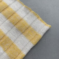 Ribbed Tricot Stripes yellow