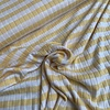 De Stoffenkamer Ribbed Tricot Stripes yellow