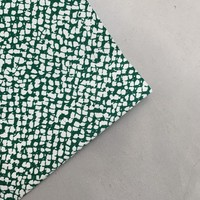 Stretch Cotton Green Weaves