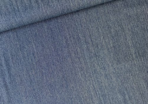 De Stoffenkamer Canvas gabardine Dark Denimblue Weave
