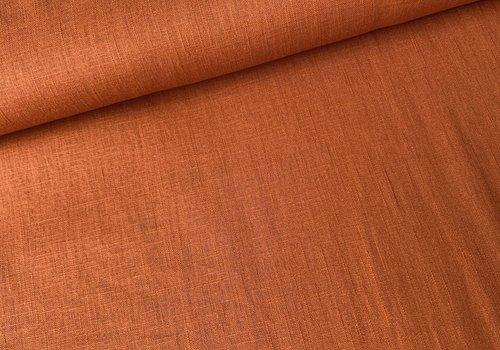 De Stoffenkamer Washed Linen Rust