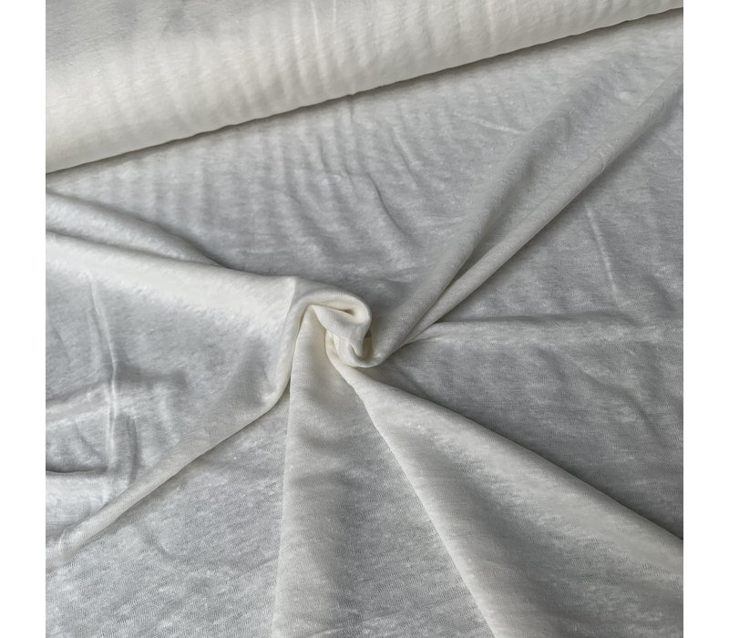 Linen Jersey White