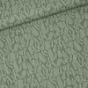 De Stoffenkamer Linen Mix Khaki structure