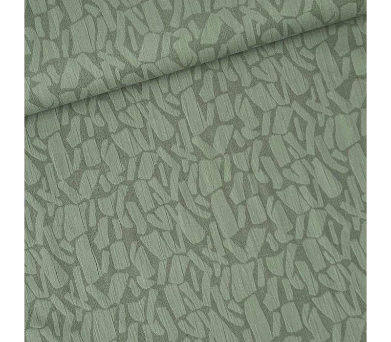 Linen Mix Khaki structure