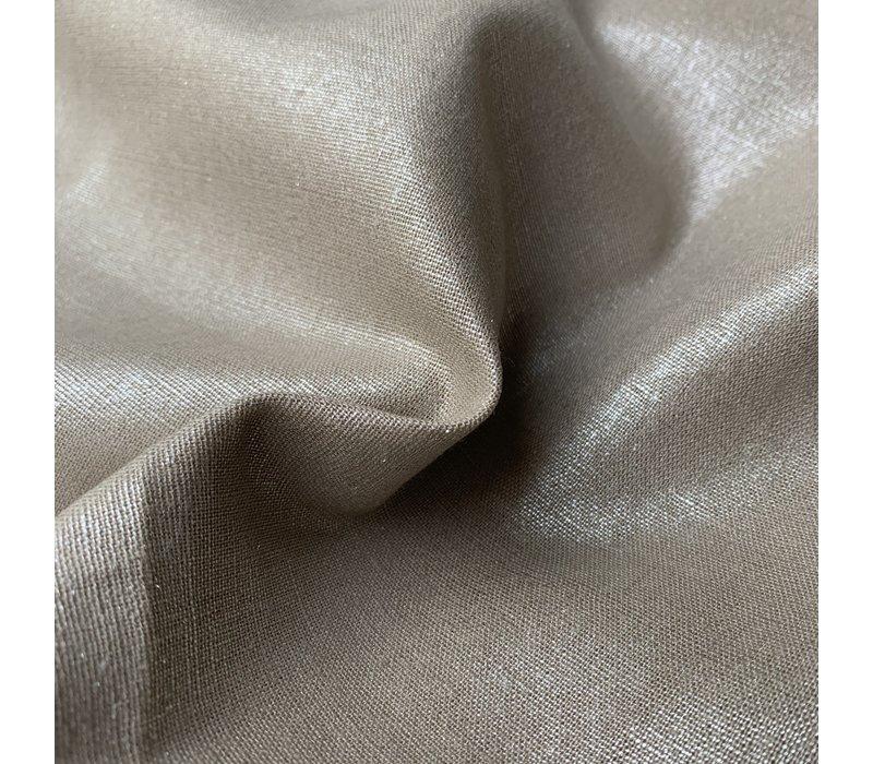 Linen Mix Silver Shimmer
