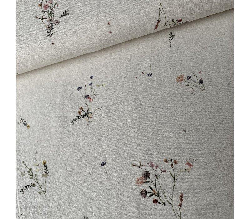 Woven pure silk Bouquet Flowers
