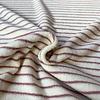 De Stoffenkamer Rekbare badstof - spons Stripes pink