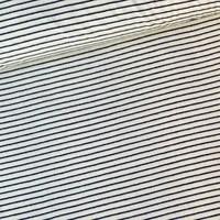 Rekbare badstof - spons Stripes Denim