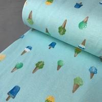 Tricot Ice cream Turquoise