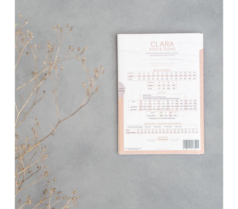 Patroon Clara Culotte Papier
