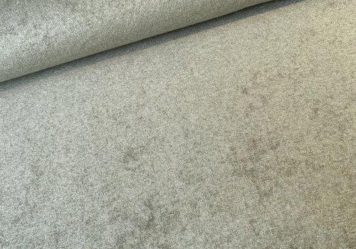 De Stoffenkamer Rekbare badstof - spons Washed khaki