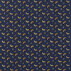 De Stoffenkamer Tricot Dark Blue Bananas