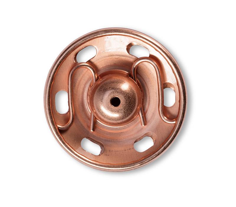 21mm Naai drukknopen 3stuks rosé