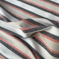 Linen Mix Stretch Stripes