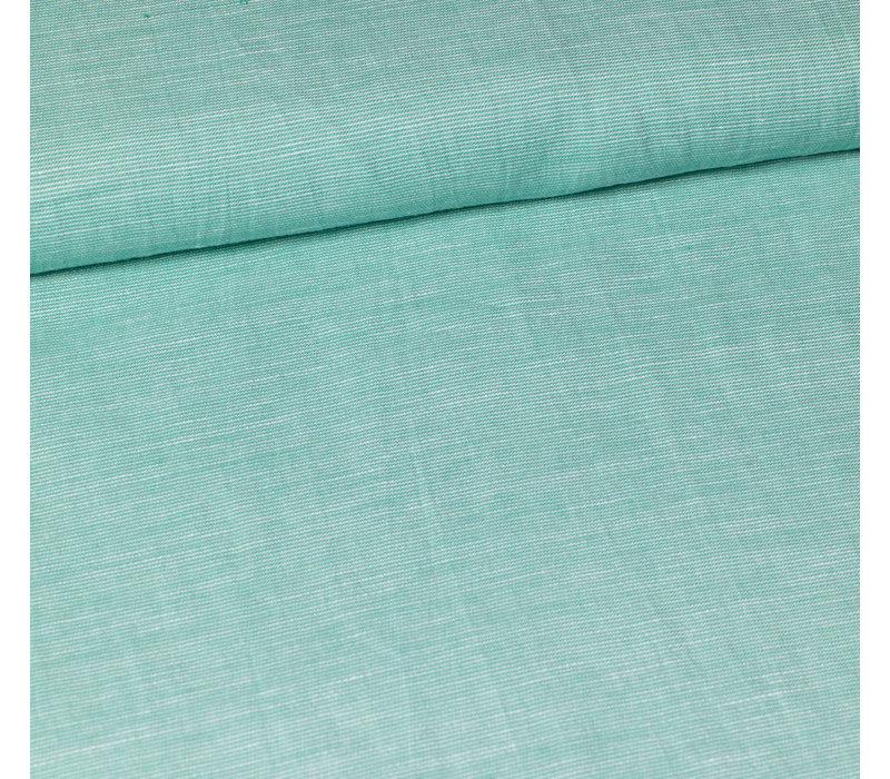 Karlene - Groen linen mix